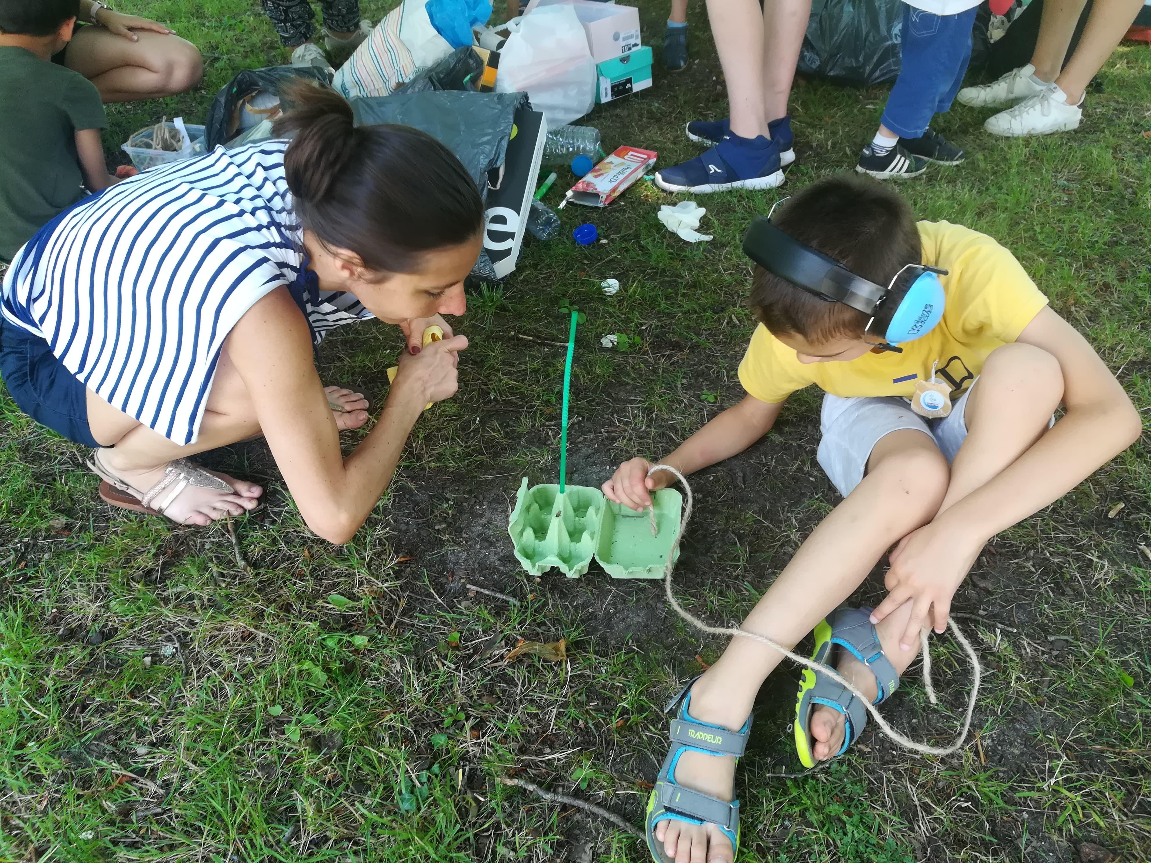 Les enfants de Ptit Dom engagés pour l'Océan avec Saga