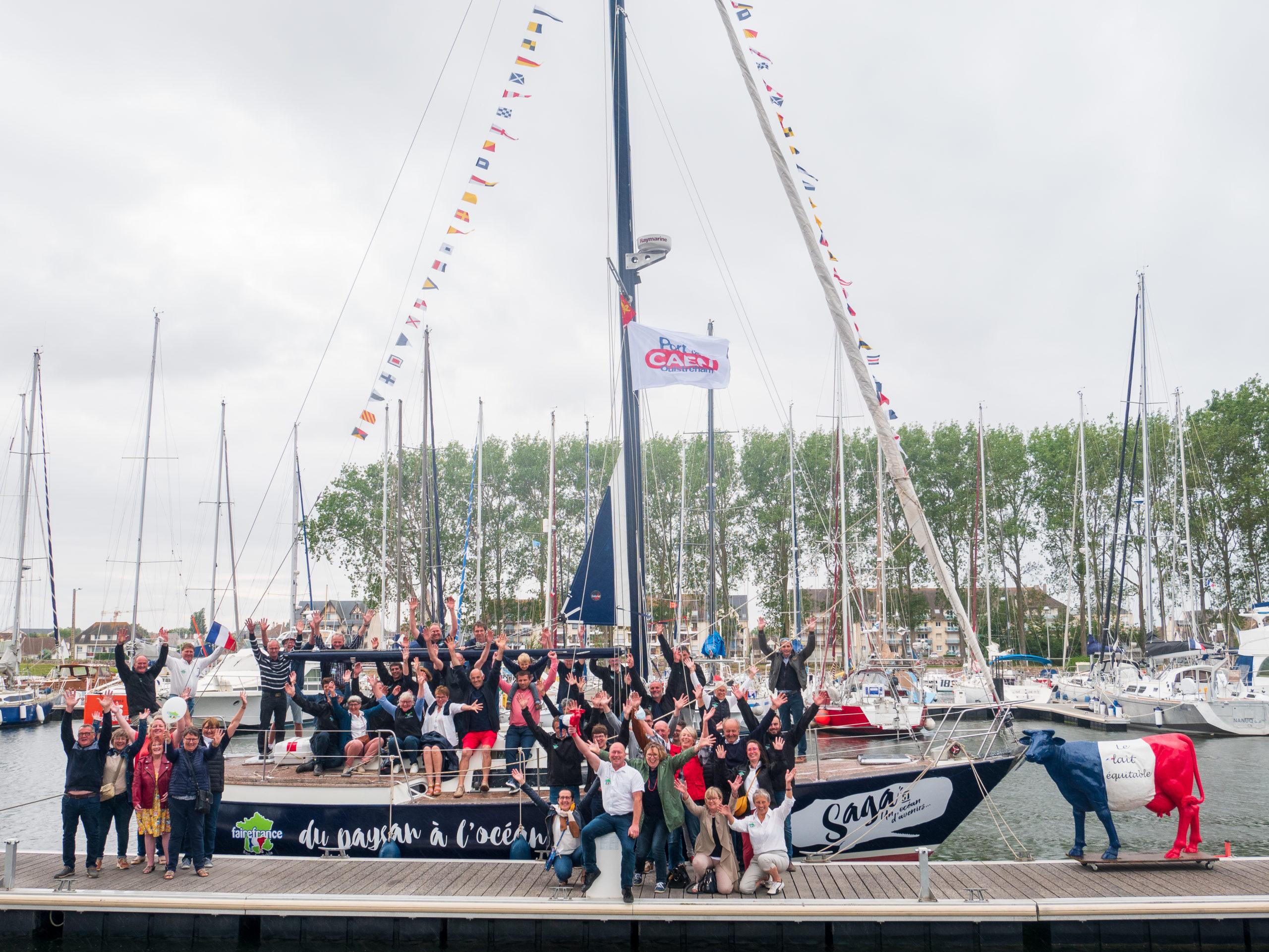 """""""Un bateau, une saga, la fin d'un naufrage"""" – Article de Marrie de Laval pour Le Journal Le Glob"""